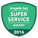 Angie's List Super Service Award Winner 2016
