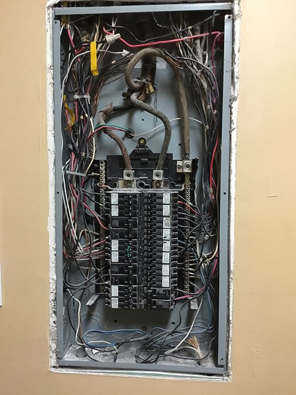 Old, Unsafe Electrical Panel