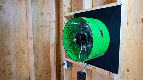 AFG SMT Attic Fan from QuietCool and Got Watts Electric